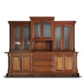 Solid Mahogany Hutch & Buffet